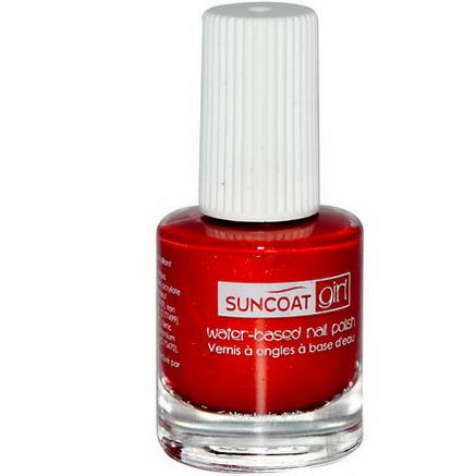 Suncoat Girl, Water-Based Nail Polish, Golden Sunlight, 0.27oz (8 ml)