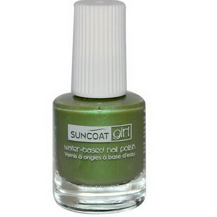 Suncoat Girl, Water-Based Nail Polish, Gorgeous Green, 0.27oz (8 ml)