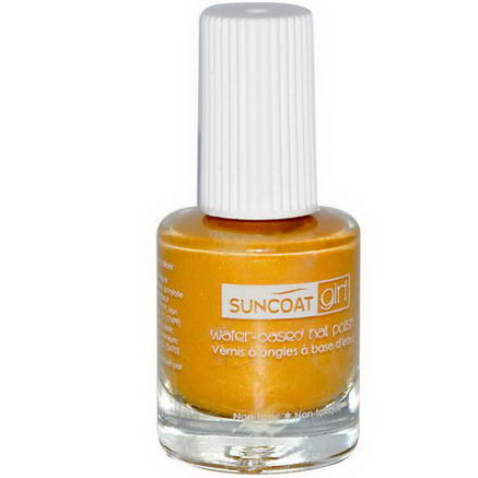 Suncoat Girl, Water-Based Nail Polish, Sunflower, 0.27oz (8 ml)