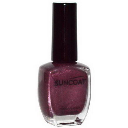 Suncoat, Nail Polish, Red Ocher, 0.43 fl oz (13 ml)