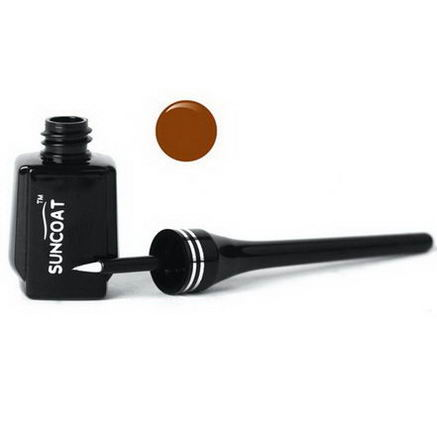 Suncoat, Natural Liquid Eyeliner, Sugar-Based, Brown, 0.23 fl oz (7 ml)