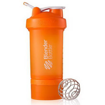 Sundesa, BlenderBottle ProStak, Orange Full Color, 22oz