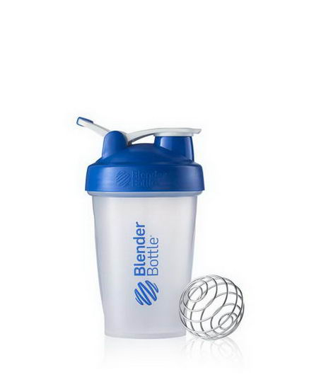 Sundesa, Classic Blender Bottle with Loop, Blue, 20oz Bottle