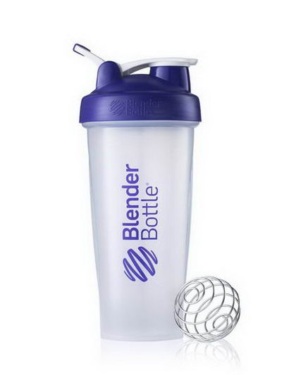 Sundesa, Classic Blender Bottle with Loop, Purple, 28oz Bottle