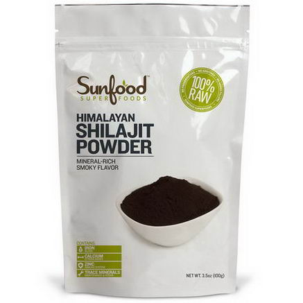 Sunfood, Himalayan Shilajit Powder, 3.5oz (100g)