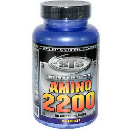 Supplement Training Systems, Amino 2200, 90 Tablets