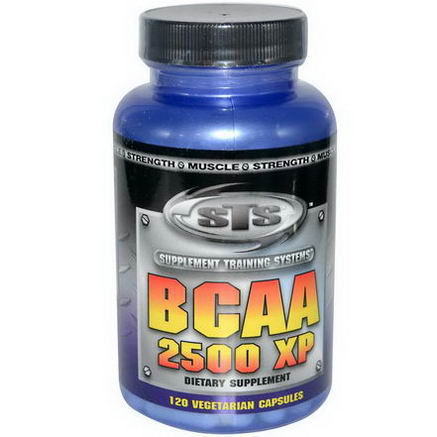 Supplement Training Systems, BCAA 2500 XP, 120 Veggie Caps