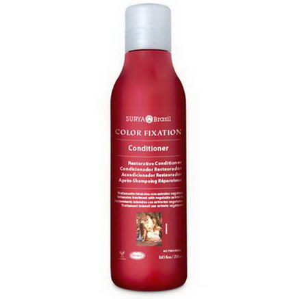 Surya Henna, Color Fixation, Restorative Conditioner, 8.45 fl oz (250 ml)
