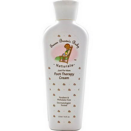 Susan Brown's Baby, Just for Mom Foot Therapy Cream, 7.6 fl oz (225 ml)