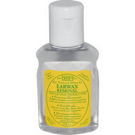Tate's, The Natural Miracle Earwax Removal, 5 fl oz