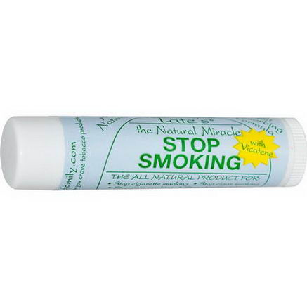 Tate's, The Natural Miracle Stop Smoking Lip Balm with Vicatene, 4.25g