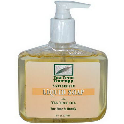 Tea Tree Therapy, Antiseptic, Liquid Soap, 8 fl oz (236 ml)