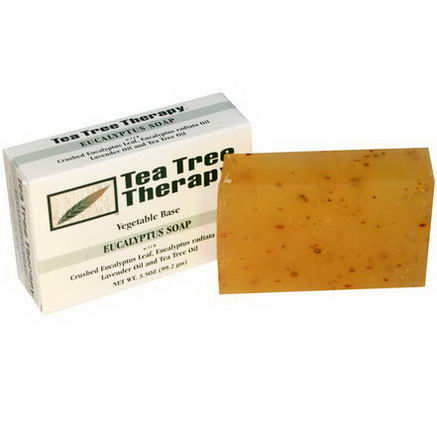 Tea Tree Therapy, Eucalyptus Soap, 3.5oz (99.2g) Bar