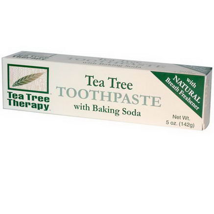 Tea Tree Therapy, Tea Tree Toothpaste, with Baking Soda, 5oz (142g)