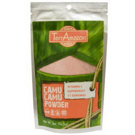 TerrAmazon, Camu Camu Powder, 2oz (56.5g)