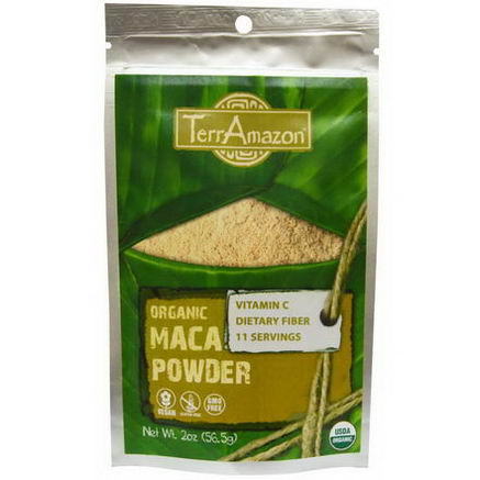 TerrAmazon, Organic Maca Powder, 2oz (56.5g)