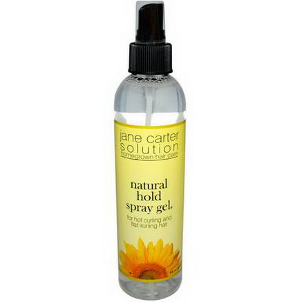 The Jane Carter Solution, Natural Hold Spray Gel, 8 fl oz (237 ml)