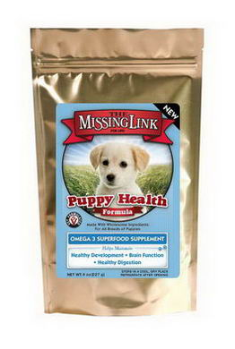 The Missing Link, Puppy Health Formula, Omega 3 Superfood Supplement, 8oz (227g)