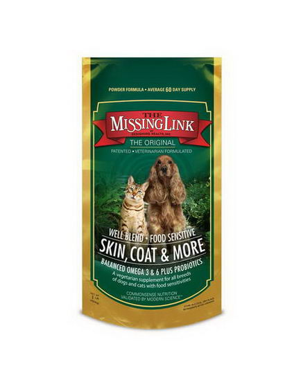 The Missing Link, Skin, Coat & More for Dogs and Cats, 1 lb (454g)