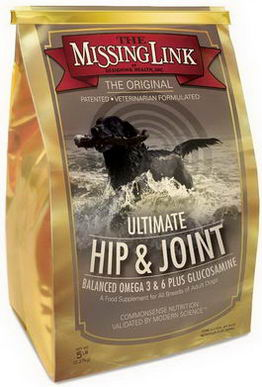 The Missing Link, Ultimate Hip & Joint with Glucosamine for Dogs, 5 lbs (2.27 kg)