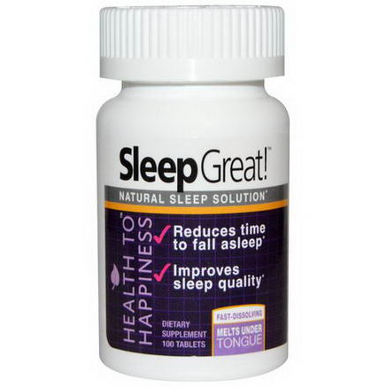 The Swedish Diet, Health to Happiness, Sleep Great, 100 Tablets