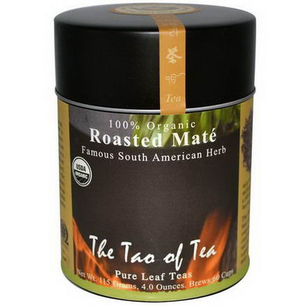 The Tao of Tea, 100% Organic Famous South American Herb, Roasted Mate, 4oz (115g)
