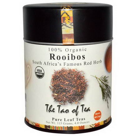 The Tao of Tea, 100% Organic, South Africa's Famous Red Herb, Rooibos, 4.0oz (115g)