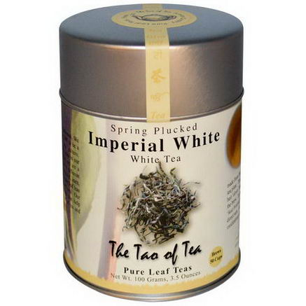 The Tao of Tea, Imperial White Tea, 3.5oz (100g)