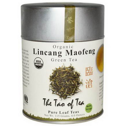 The Tao of Tea, Organic, Green Tea, Lincang Maofeng, 4.0oz (115g)