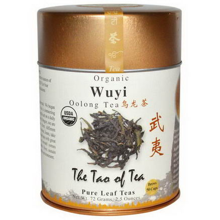 The Tao of Tea, Organic Oolong Tea, Wuyi, 2.5oz (72g)