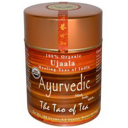 The Tao of Tea, Organic Ujaala, Ayurvedic Tea, 3.5oz (100g)