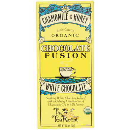 The Tea Room, Chocolate Fusion, White Chocolate, Chamomile & Honey, 1.8oz (51g)