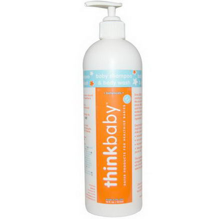 Thinkbaby, Baby Shampoo and Body Wash, 16 fl oz (473 ml)