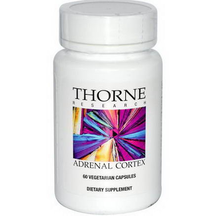 Thorne Research, Adrenal Cortex, 60 Veggie Caps