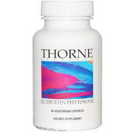 Thorne Research, Quercetin Phytosome, 60 Veggie Caps