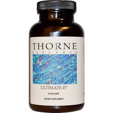 Thorne Research, Ultimate-E, 60 Gelcaps