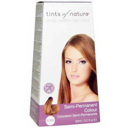 Tints of Nature, Semi-Permanent Color, Copper Brown, 5CBR, 3.0 fl oz (90 ml)