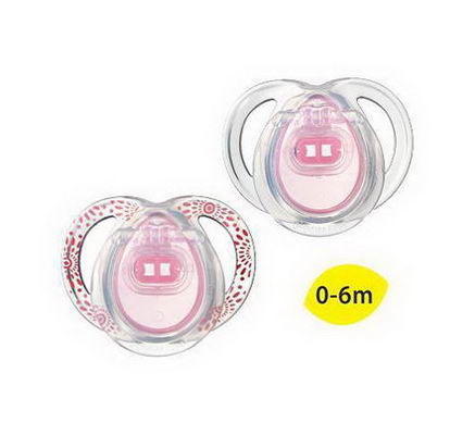 Tommee Tippee, Closer to Nature, Every Day Pacifiers, Orthodontic, 2 Pacifiers