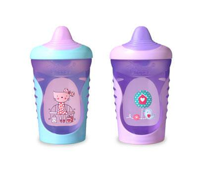 Tommee Tippee, Explora Easiflow, Sippy Cups, 2 Cups, 11 fl oz (325 ml) Each