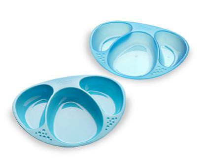 Tommee Tippee, Explora, Section Plates, 2 Plates