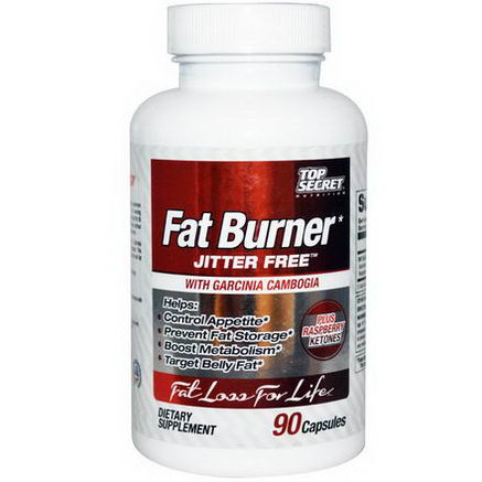 Top Secret Nutrition, LLC, Fat Burner, 90 Capsules
