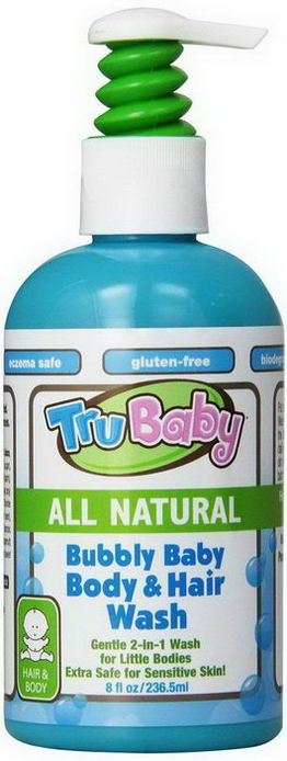 TruKid, Bubbly Baby Body & Hair Wash, 8 fl oz (236.5 ml)