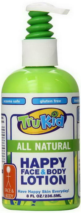 TruKid, Happy Face & Body Lotion, 8 fl oz (236.5 ml)