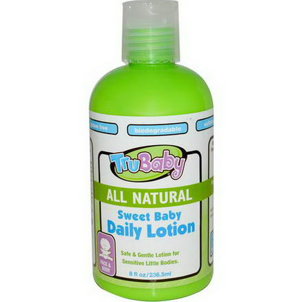 TruKid, Sweet Baby Daily Lotion, 8 fl oz (236.5 ml)