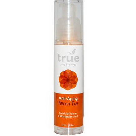 True Natural, Anti-Aging Perfect Tan, 1.7 fl oz (50 ml)