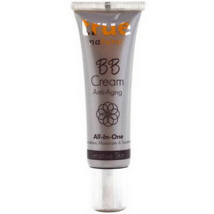 True Natural, BB Cream, All In One, Anti-Aging, Sensitive Skin, 1 fl oz (30 ml)