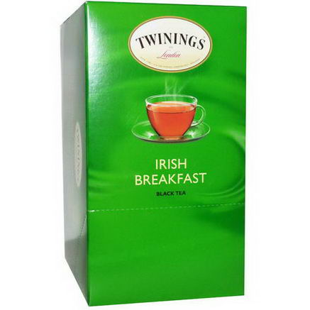 Twinings, Keurig, Irish Breakfast Black Tea, 24 K-Cup Packs, 0.11oz (3.0g) Each