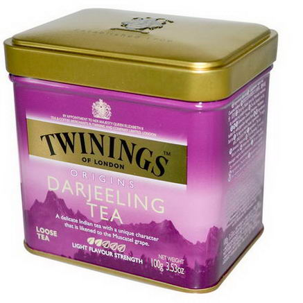 Twinings, Origins, Darjeeling Loose Tea, 3.53oz (100g)