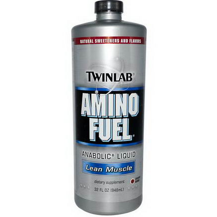 Twinlab, Amino Fuel, Lean Muscle, Cherry BMB, 32 fl oz (948 ml)