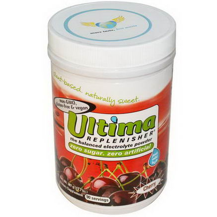 Ultima Health Products, Ultima Replenisher, Cherry, 13.7oz (387g)